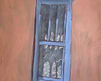 Polly Jackson - Pecos Window