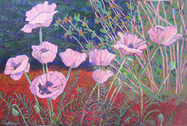 Polly Jackson - Pink Poppies