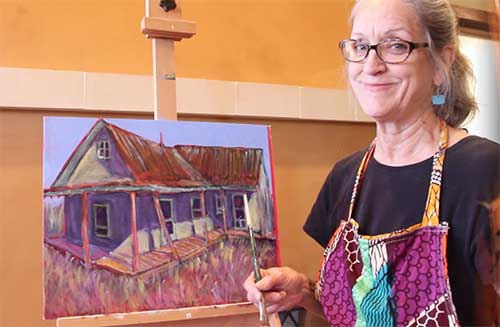 Polly Jackson Art Technique Video